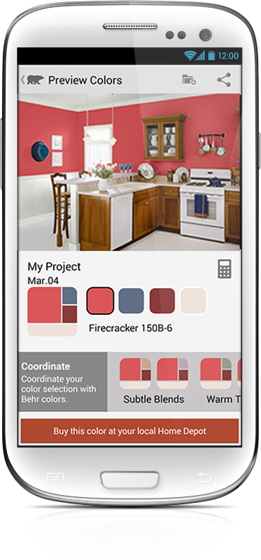 Behr Paint App Fabulous An Android App To Visualize New